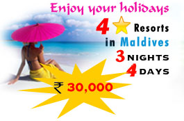 four star resorts in maldives