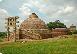 Sanchi Stupas Bhopal in Madhya Pradesh India